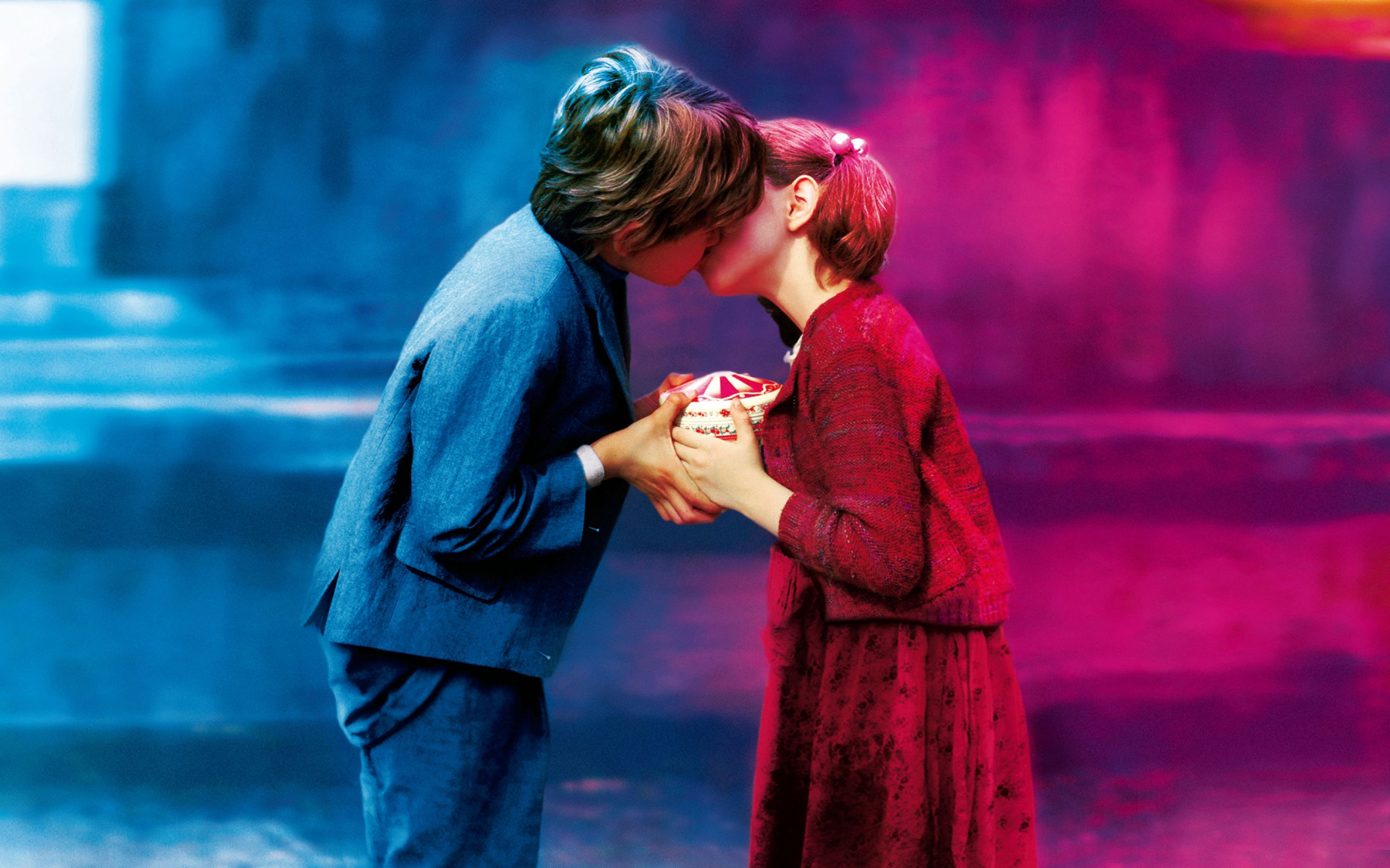 Boy Girl Cute Kiss Wide Hd Wallpapers High Definition