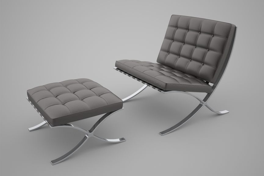 Ludwig Mies van der Rohe and Lilly Reich – The Barcelona Chair