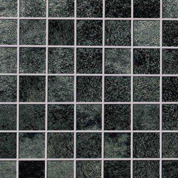 Mosaique Sol Et Mur Metalart Noir Leroy Merlin Carrelage Salle De Bain Texture Carrelage Mosaique