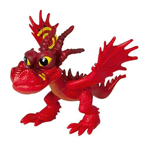 Dreamworks, Dragons Defenders of Berk, Mini Racing Dragons, Hookfang (Monstrous Nightmare) Dreamworks Dragons http://www.amazon.com/dp/B00OE7P366/ref=cm_sw_r_pi_dp_CJ0vwb1W19Q12