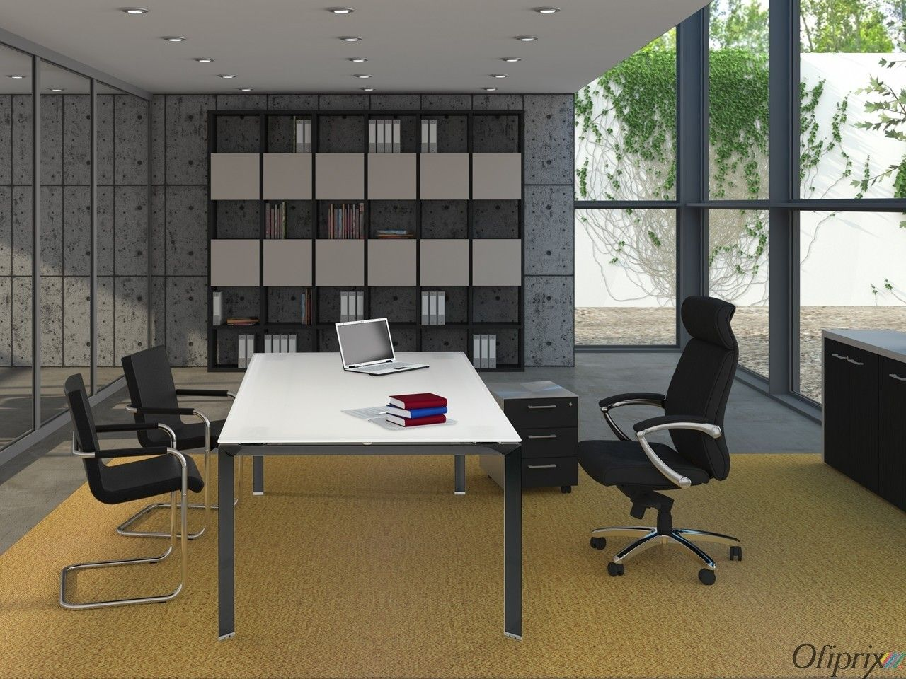 Mesas De Despacho Modernas Serie Link Class Muebles De Oficina Mesas Despacho Muebles