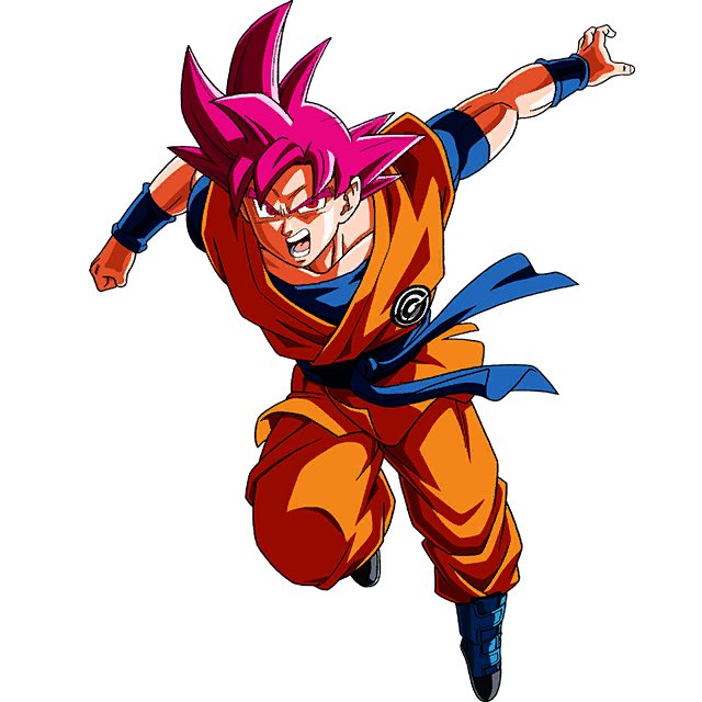 Goku SSG (Capsule Corp)render [SDBH World Mission] by