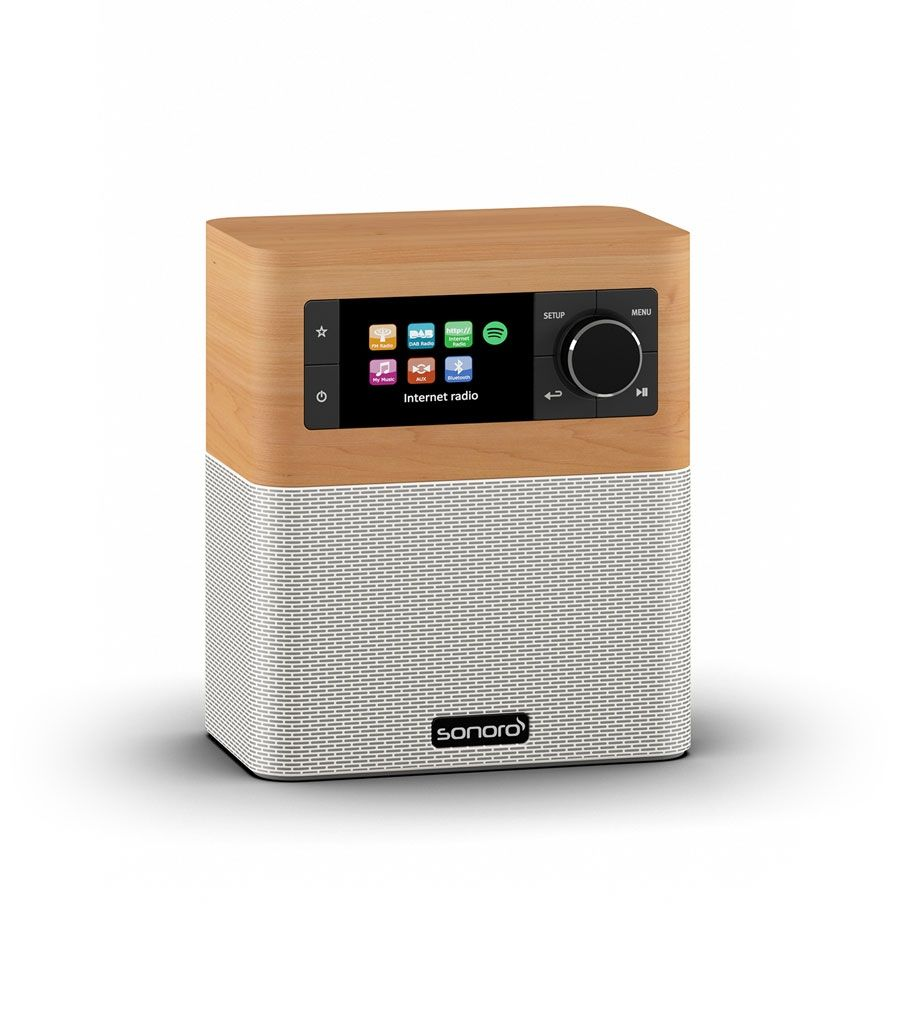Sonoro Stream Incl Dab Digitales Radio Audio Fernbedienung