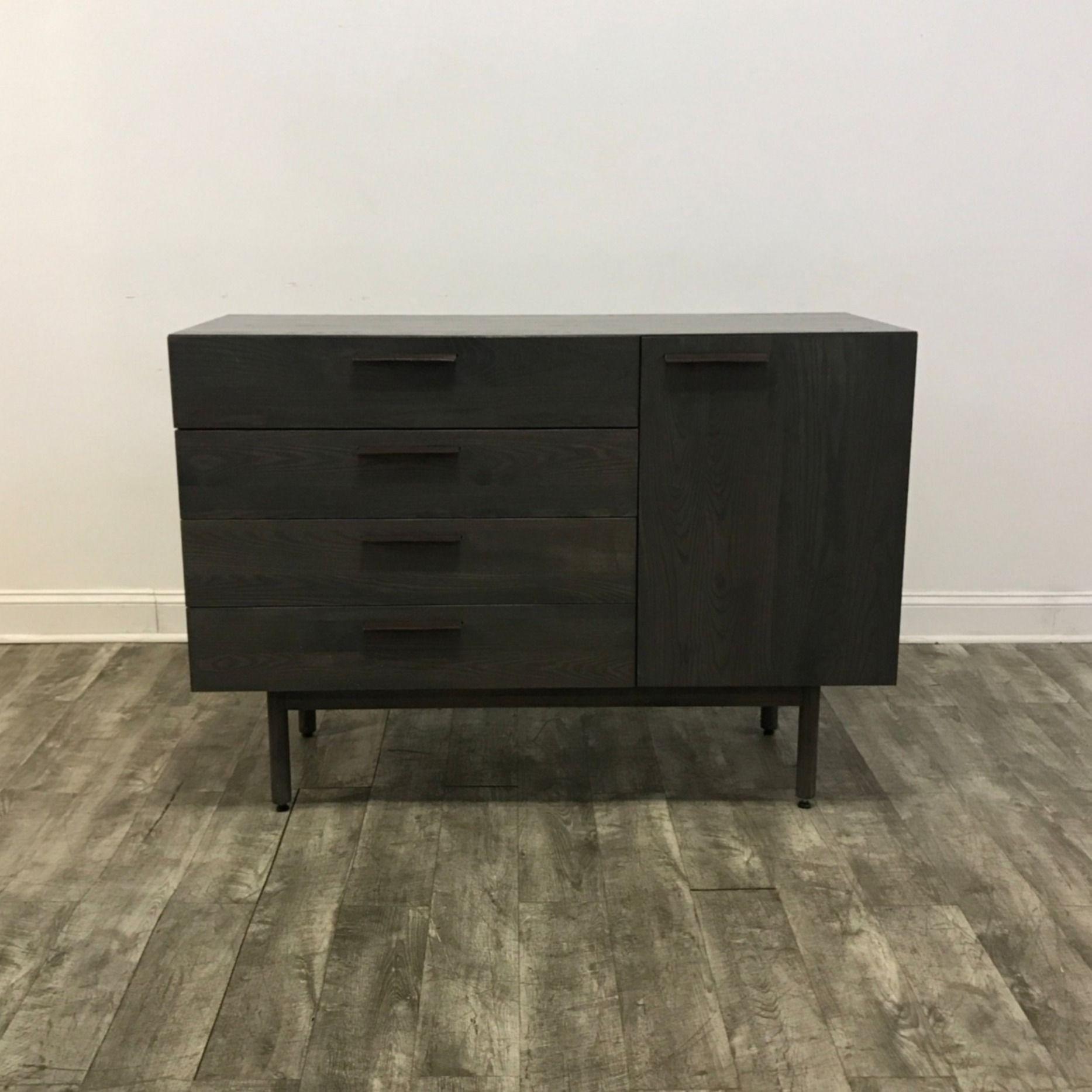 Modern Oak Console Cabinet - MarketSquare Chicago ...
