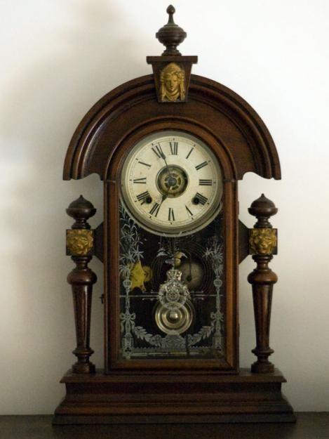 Ansonia Clock Company Vintage Mantle Clocks