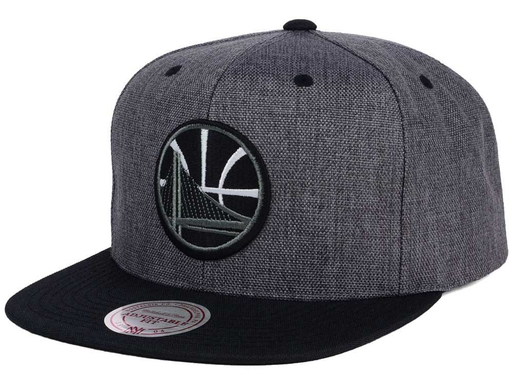 on sale 6af4c 3df80 Golden State Warriors Mitchell and Ness NBA Cation 2Tone Snapback Cap