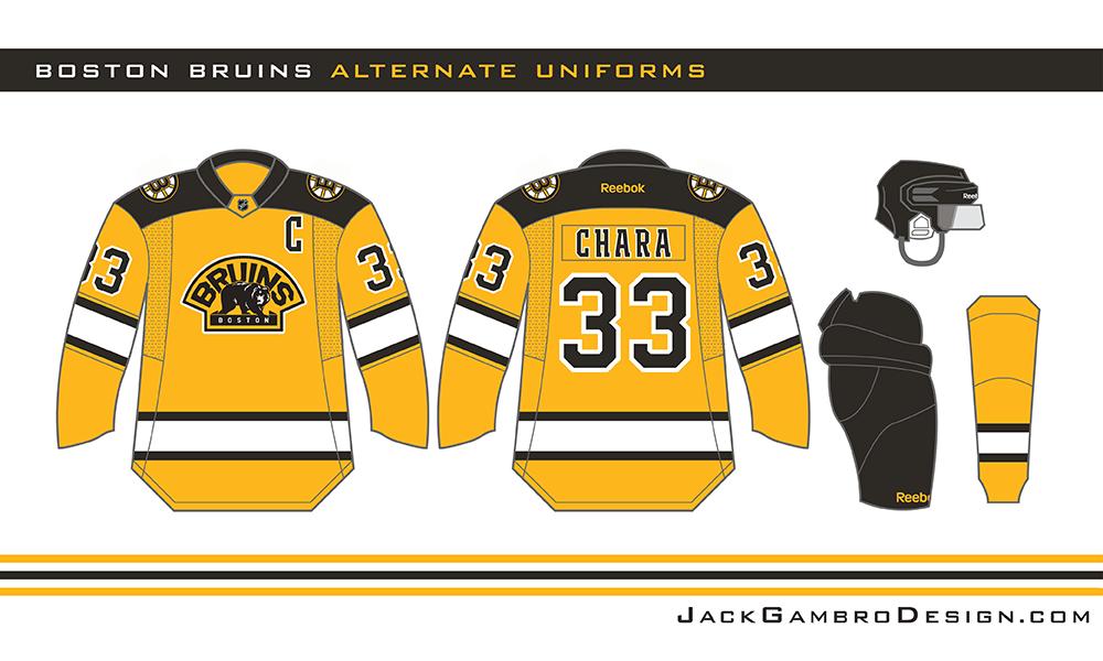 quality design 5c629 f481a Boston Bruins alternate jersey concept - Jack G.   Boston ...