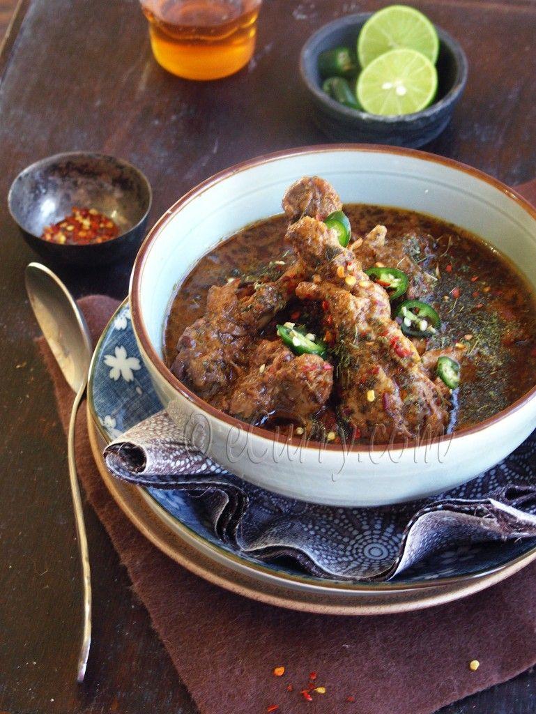Dahi Methi Murgh Chicken Curry in Fenugreek and Yogurt