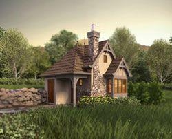 Cottage House Plan 0 Bedrooms 1 Bath 300 Sq Ft Plan 74 758