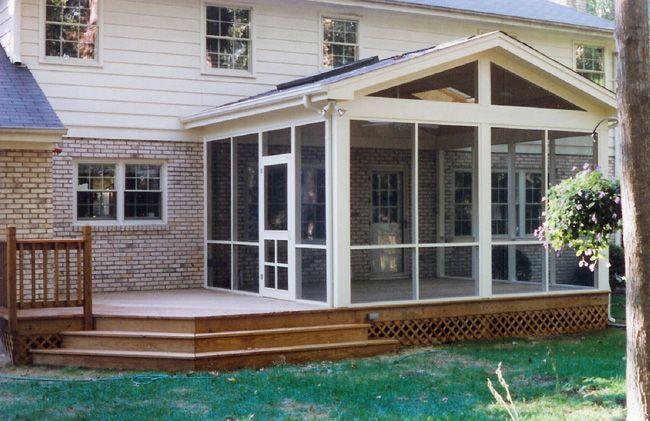 Elegant Backyard Sunroom Ideas