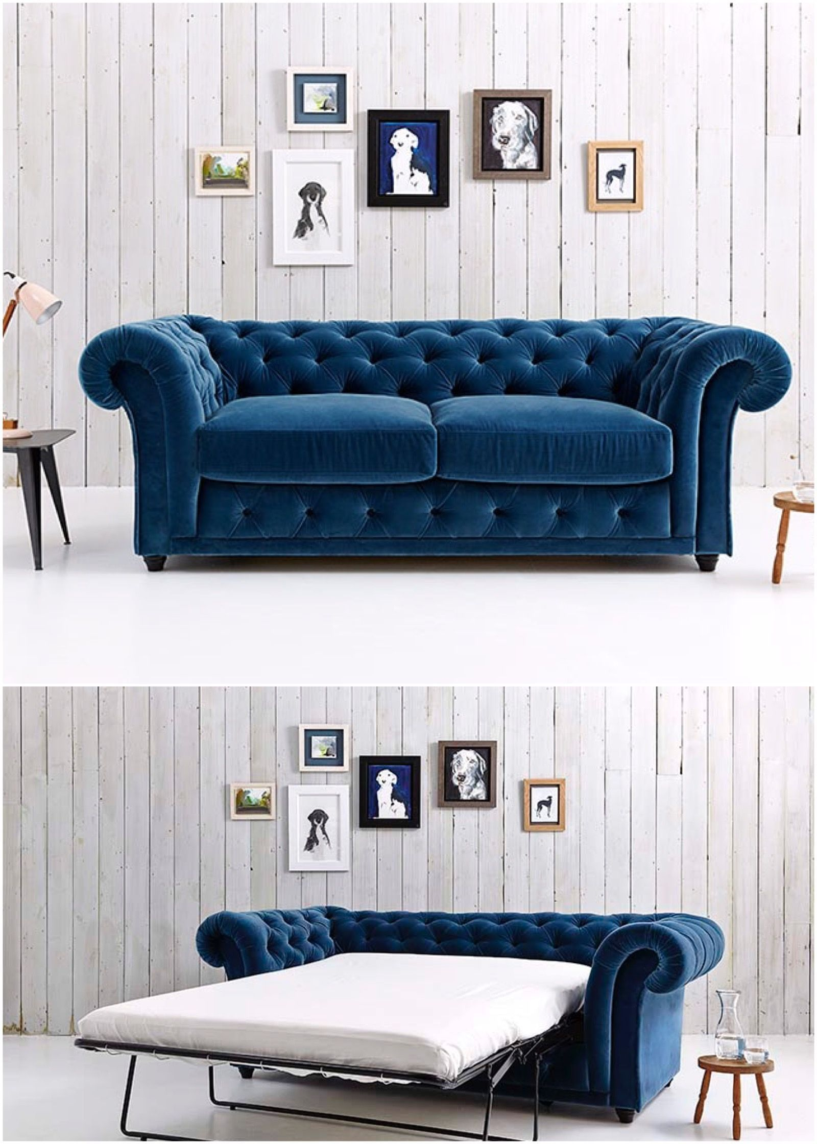 churchill chesterfield sofa bed double beds chesterfield and