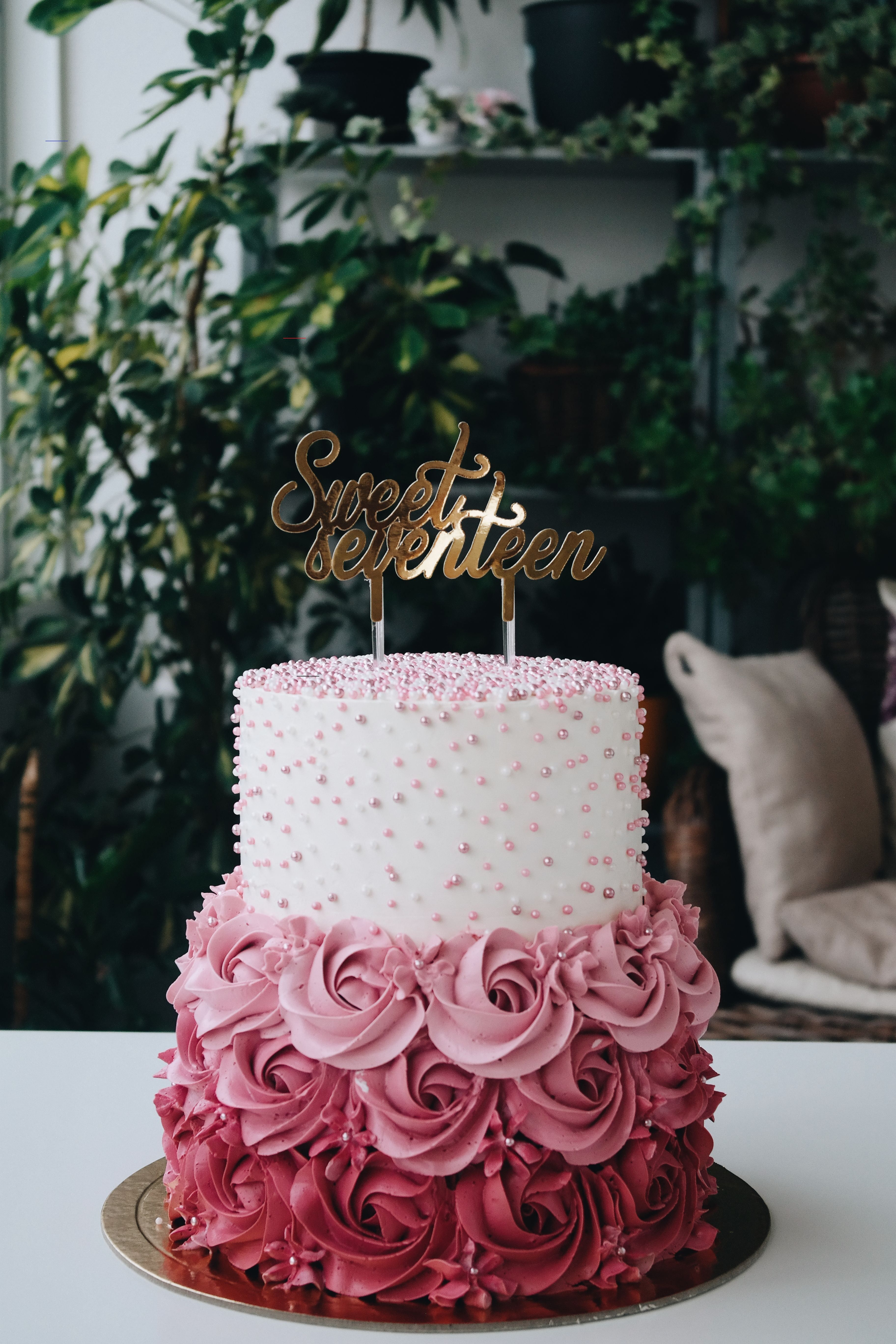#cakedesigns in 2020 | Sweet 16 birthday cake, 16th ...