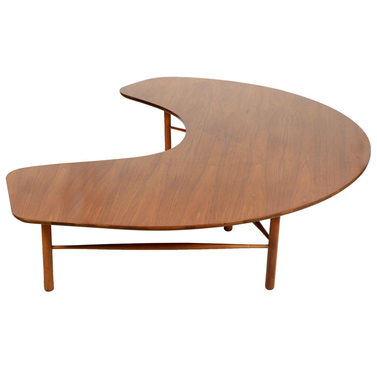 Greta Grossman Crescent Shaped Coffee Table