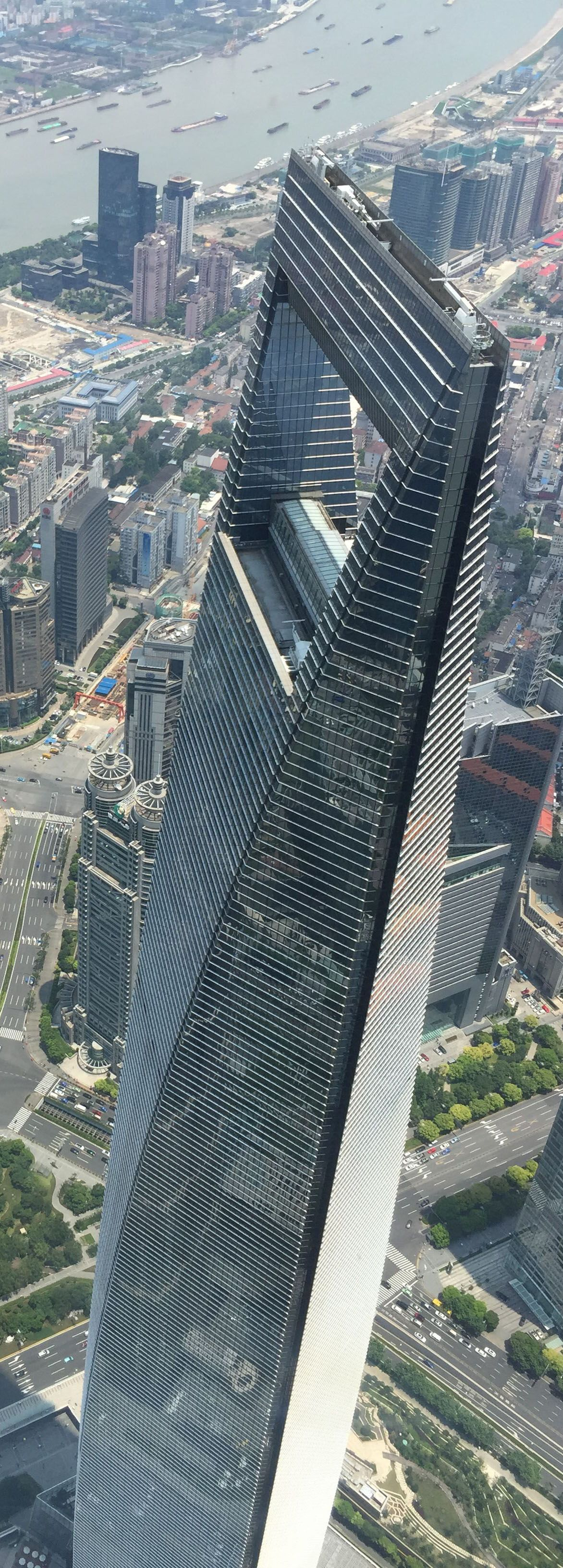 Shanghai World Financial Center 492m Shanghai China Amazing Buildings Skyscraper Architecture Shanghai Skyline