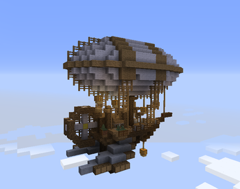Floating Ship Grabcraft Your Number One Source For Minecraft Buildings Blueprints Tips Ideas Floorplans Minecraft Designs Minecraft Minecraft Buildings
