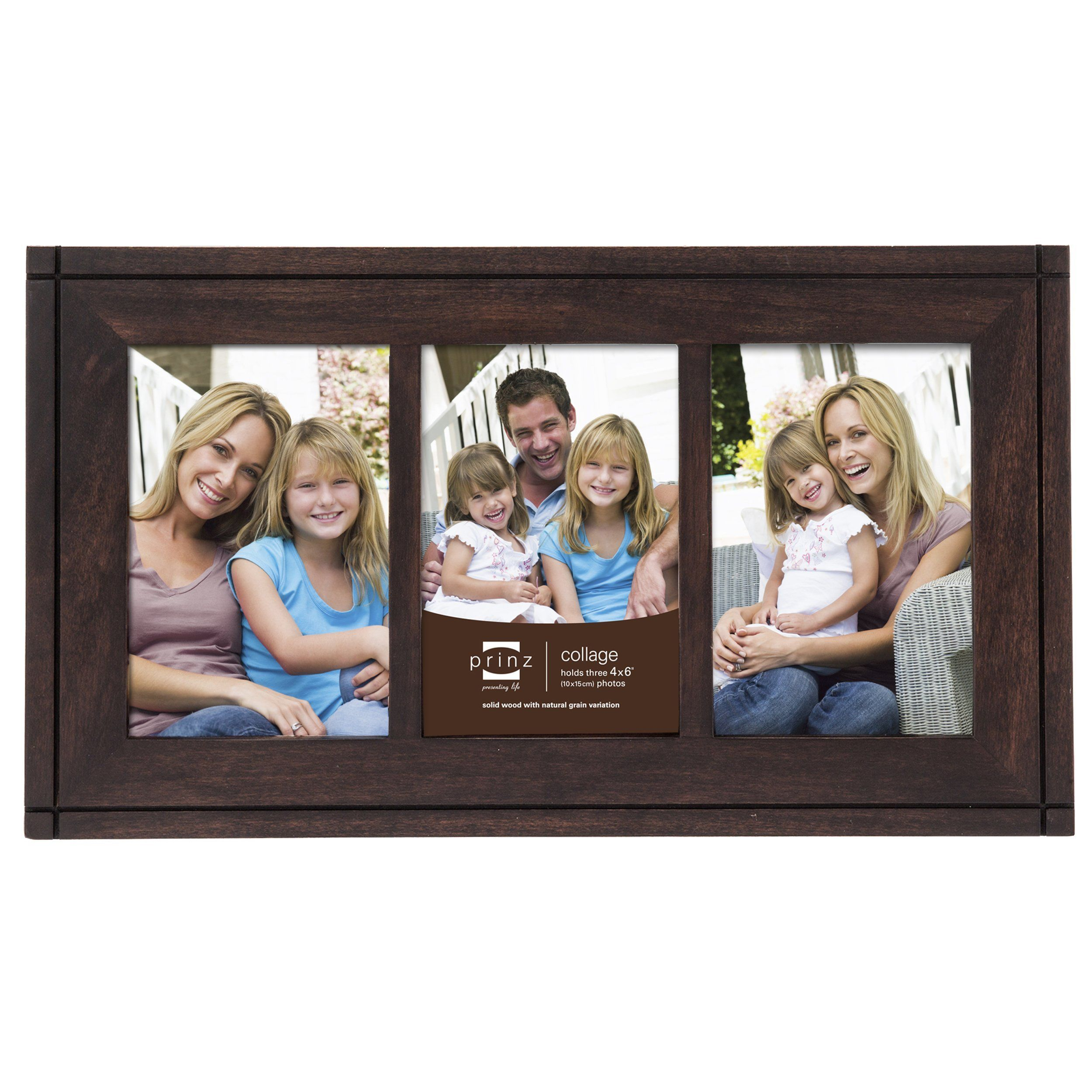 3 Opening 4x6 Dryden Hinged Espresso Wood Frame Products