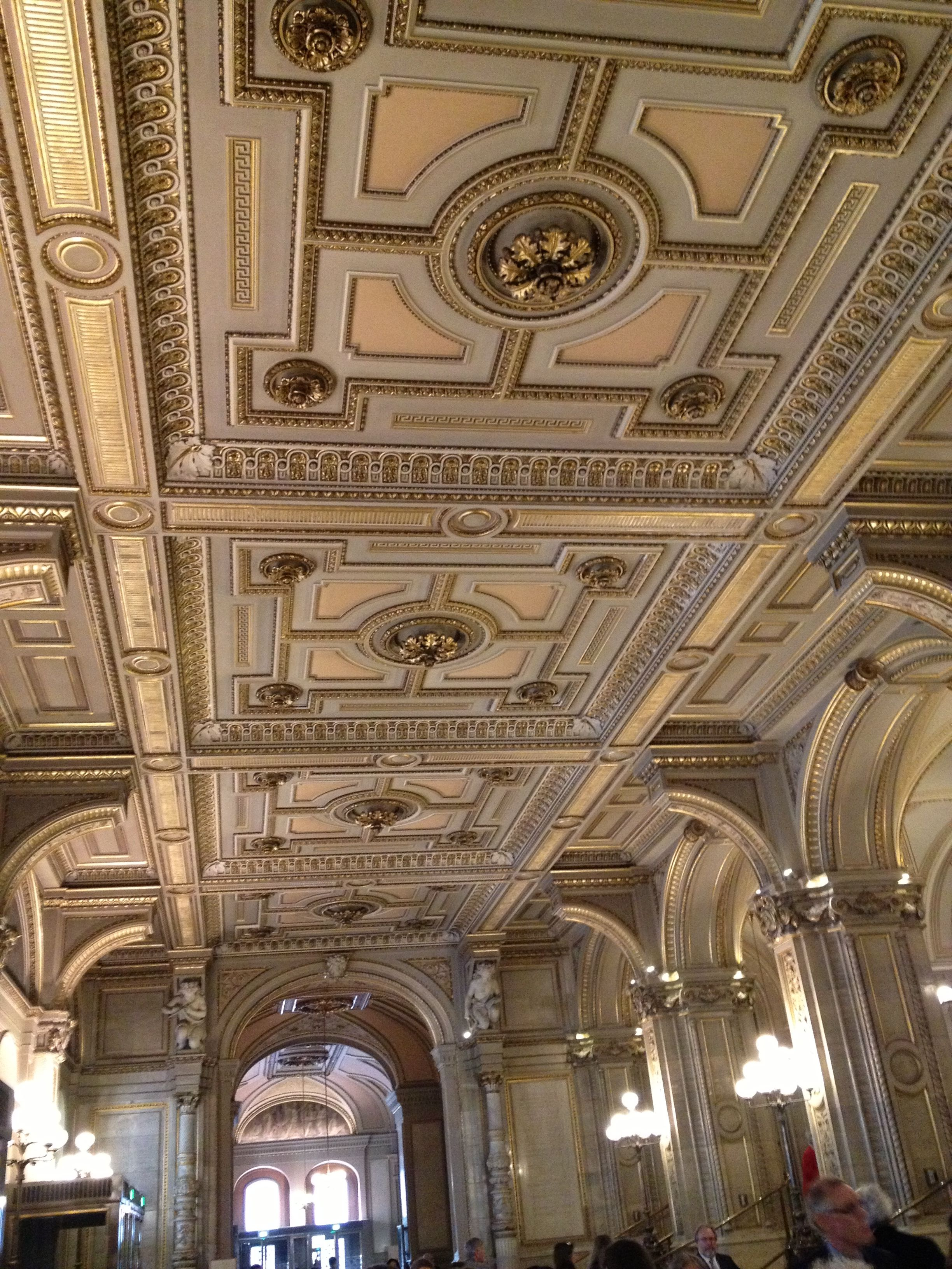 Vienna Opera House Ceiling Design Ceiling Design Bedroom Coffered Ceiling