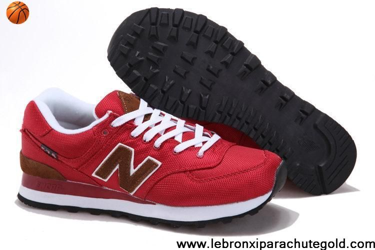 Brown · New Balance NB ML574PBR backpack retro Red Brown For Men shoes ...