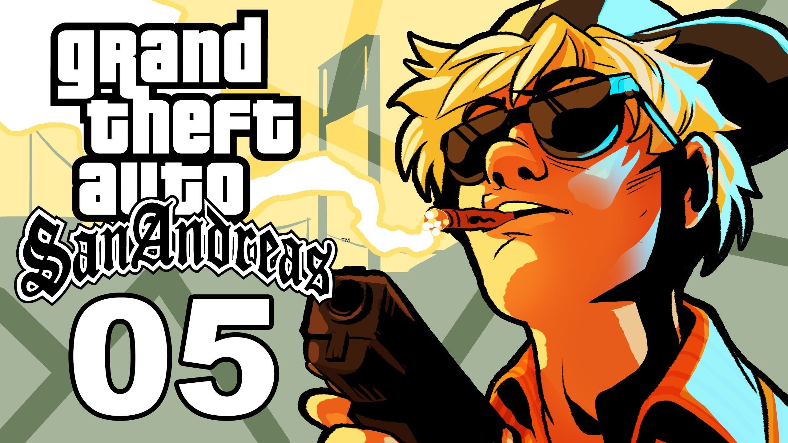 Grand Theft Auto San Andreas Gameplay Ssohthrough Part 5