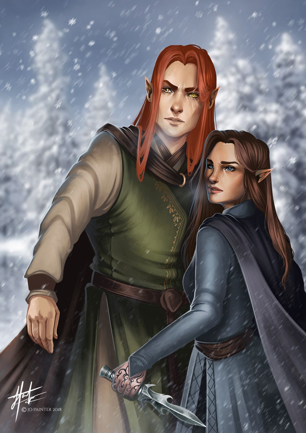 Lucien And Feyre I Wish These Two Could Be Better Friends Again