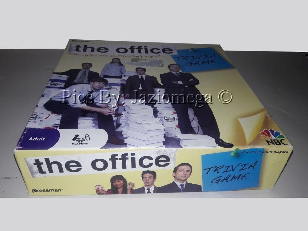 The Office Trivia Board Game Nbc Pressman Pinterest