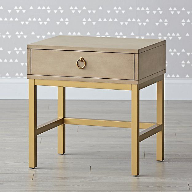 genevieve gorder grey gold nightstand gold nightstand