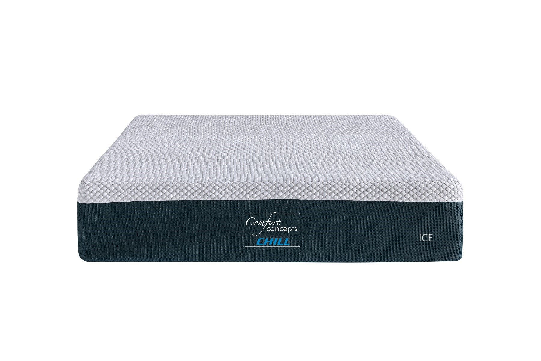 comfort concepts chill ice 12 gel foam mattress ice is the 12