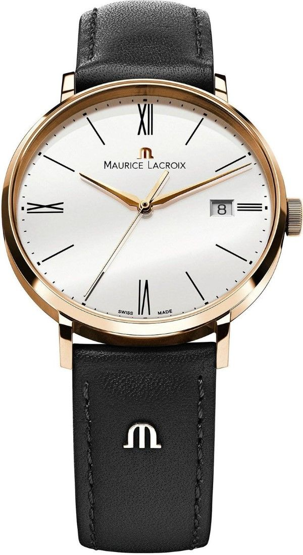 Gold watches   Maurice Lacroix Eliros EL1087-PVP01-110 Mens Wristwatch Flat    light d3323845562