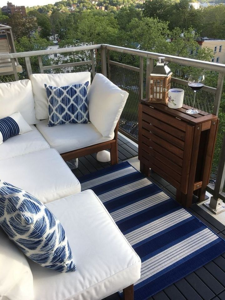 ↗️ 120 Most Popular Small Patio Furniture Ideas 16 #smallbalconydecor