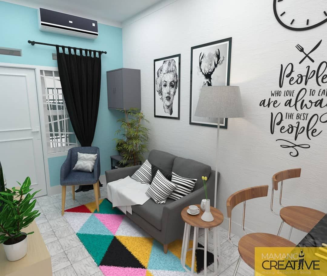 "Design and Build your Idea di Instagram ""Desain interior"