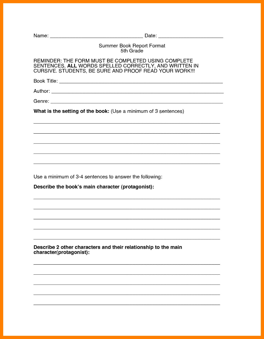 Develop thesis statement research paper