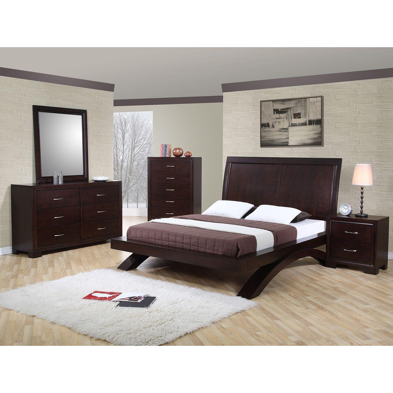 Zoe Bedroom Set Choose Size Sam S Club Platform Bedroom Sets