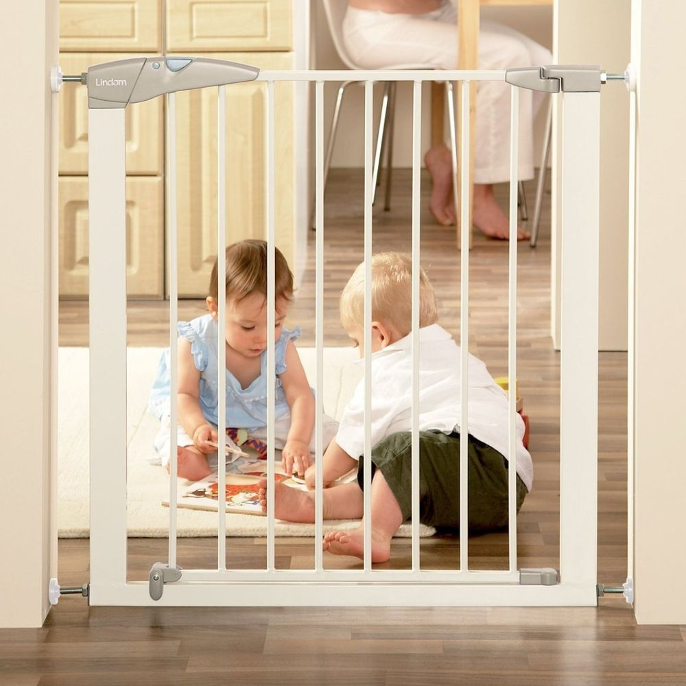 Toddler Baby Safety Stair Gate Lindam Guard Door Pressure Fit Extend No Drilling Baby Safety Kids Gate Baby Safety Gate
