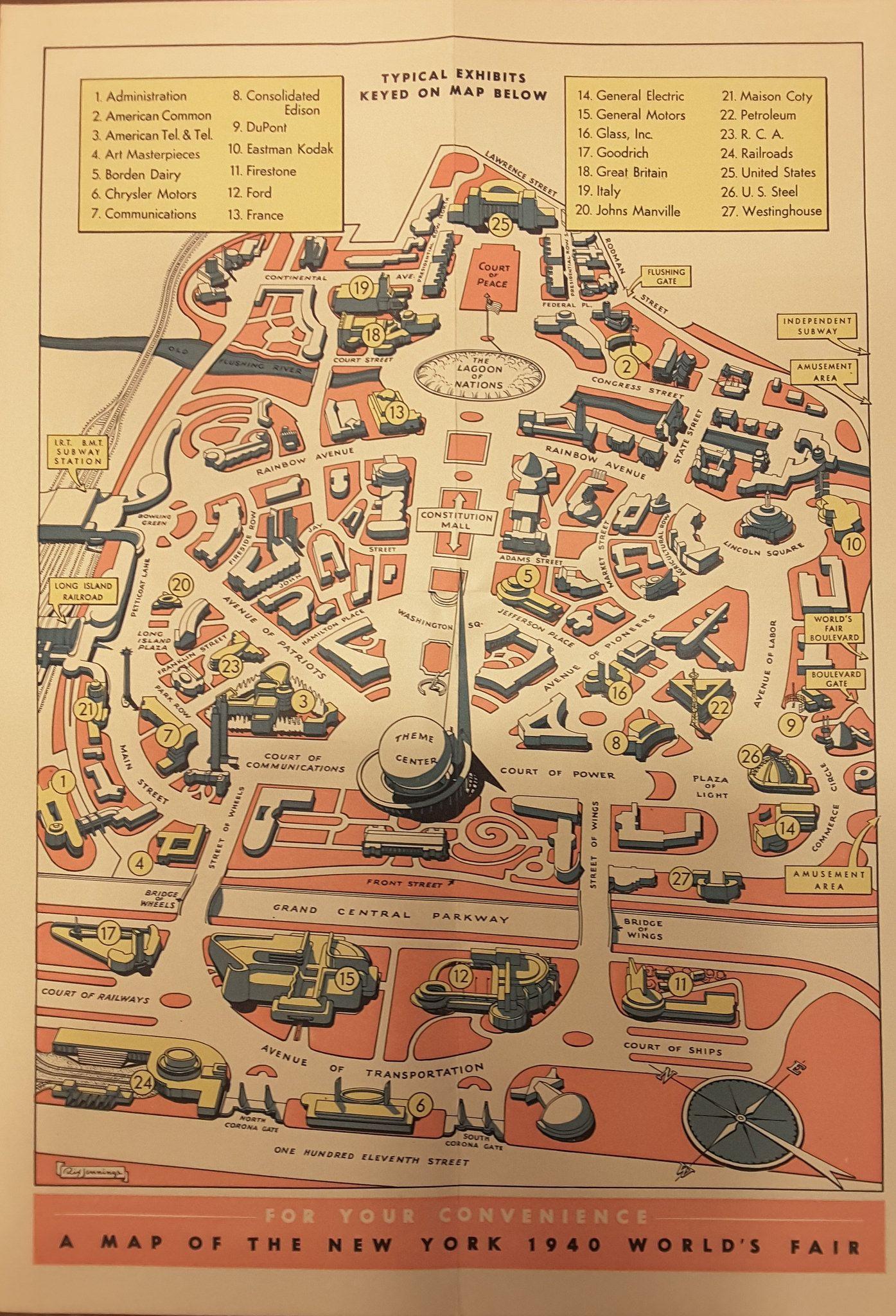 New York World s Fair 1940 Highways and Horizons Brochure