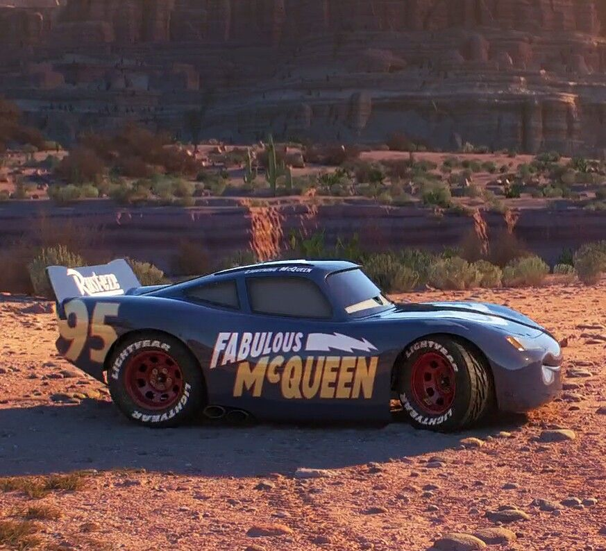 Fabulous Mcqueen Cars 3 Last Part Carros De Cinema Desenho Carros Disney Carros Da Disney