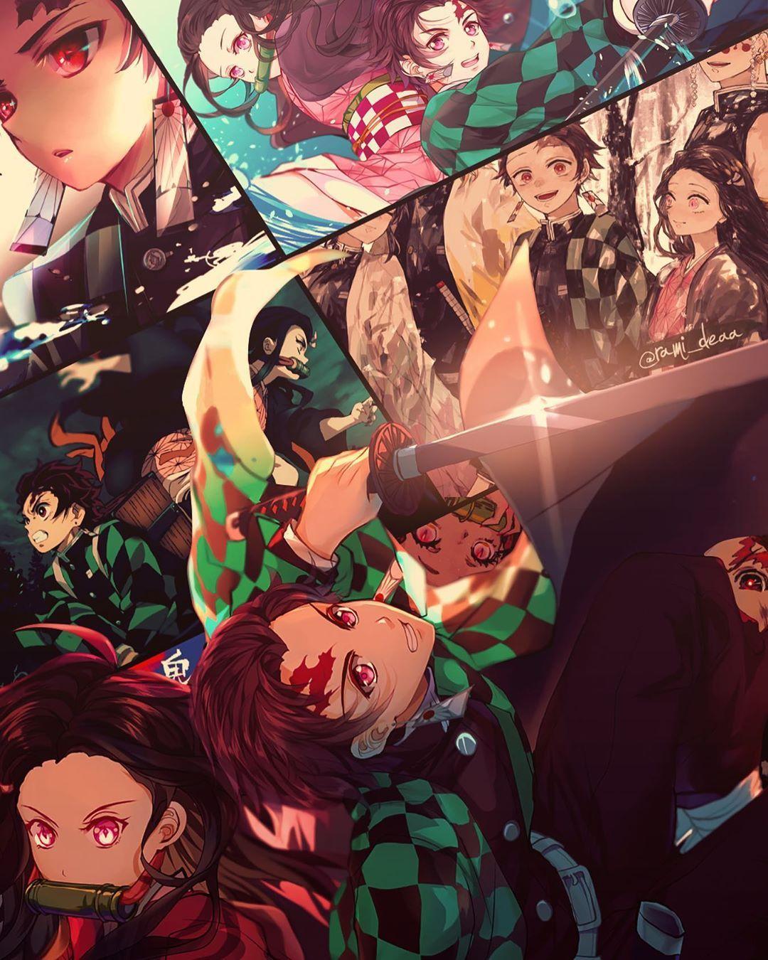 R Jay En Instagram Demon Slayer Demonslayer Kimetsunoyaiba Nezuko Tankiro Anime Art Design Wallpaper Japan Tokyo In 2020 Anime Demon Anime Anime Wallpaper