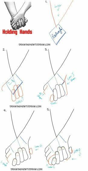 tutoeial para dibujar personas tomadas de la mano dibujo pinterest drawings drawing ideas and sketches