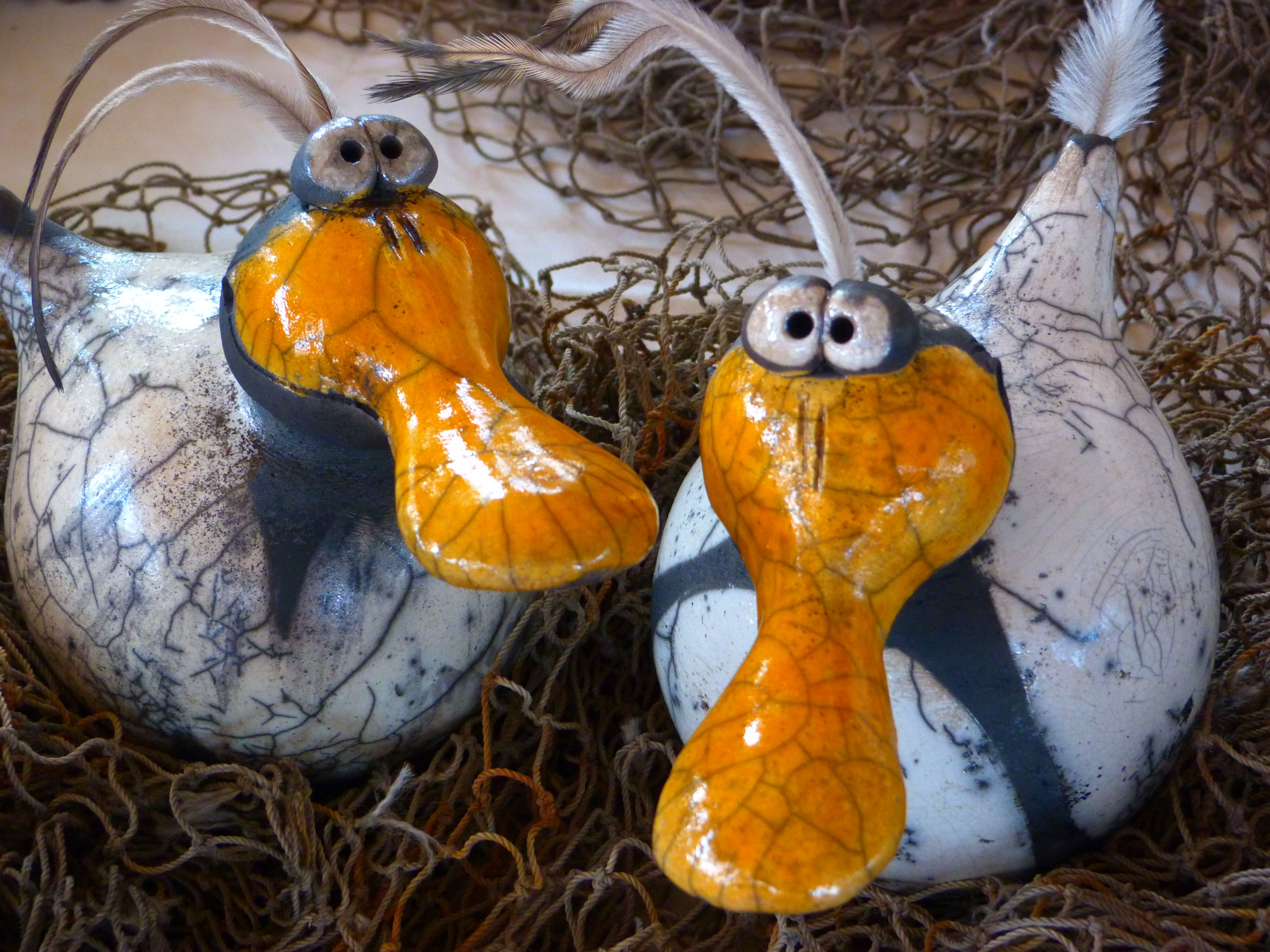 Ton Tiere Keramik Vögel Tierfiguren Töpfern Ideen Scherben Glasur Modelliermasse Gartenkunst Knete