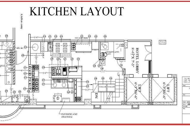 restaurant kitchen design layout sf homes  restaurant