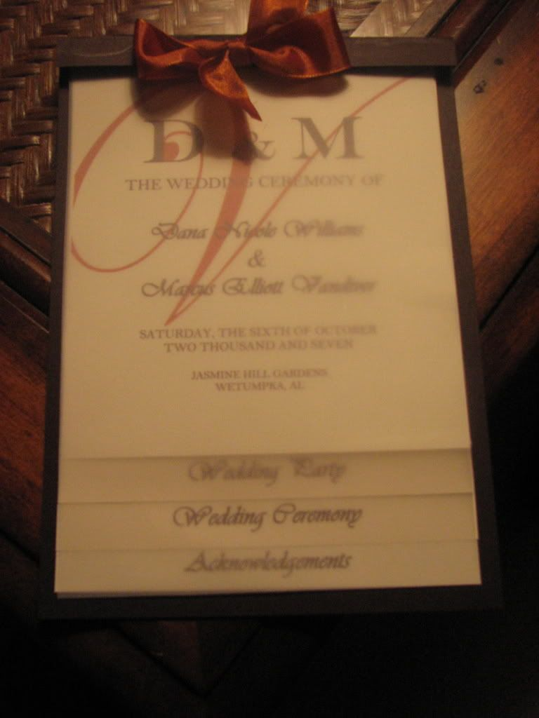 wedding programs | DIY Layered Wedding Programs | VibrantBride.com ...