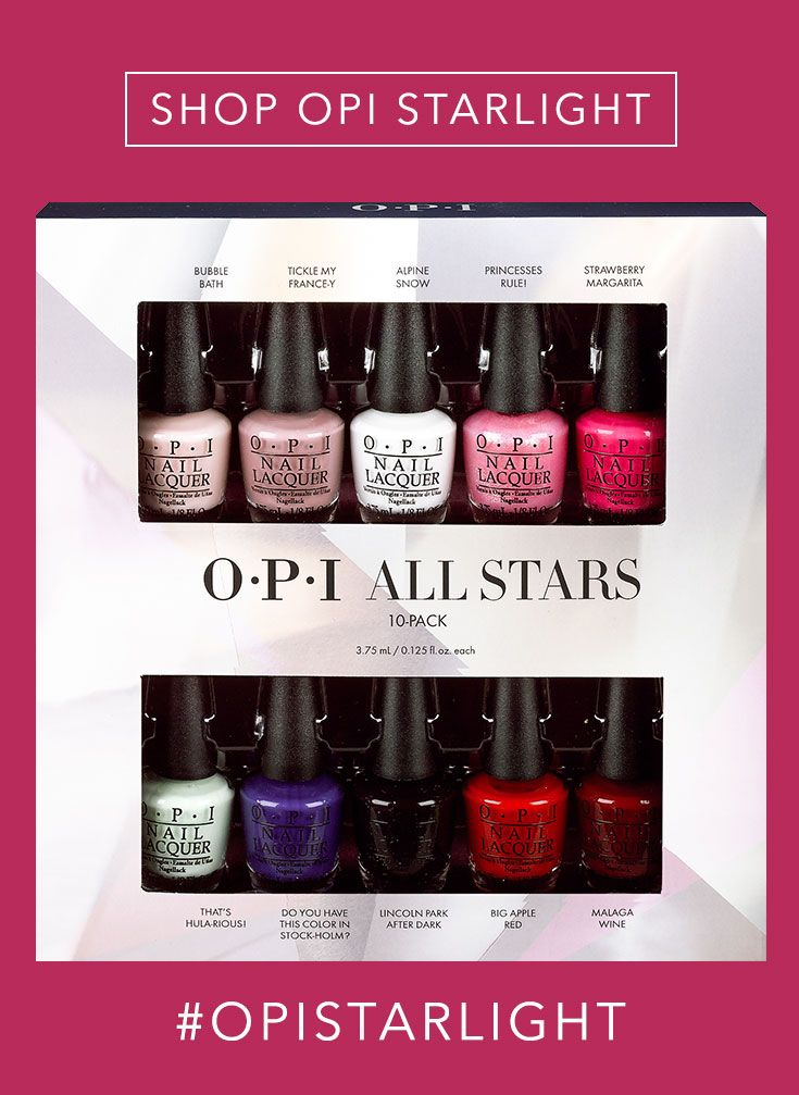 Shop The Gift Opi Top 10 All Stars Mini Set Beauty