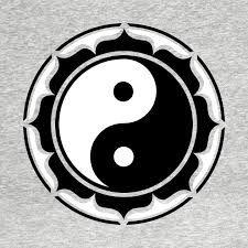 Resultado de imagem para yin yang lotus
