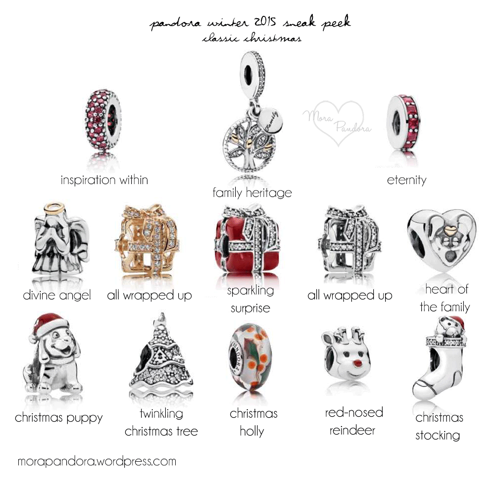 Pandora Winter 2015 Updated Pictures & Prices | Christmas 2015 ...
