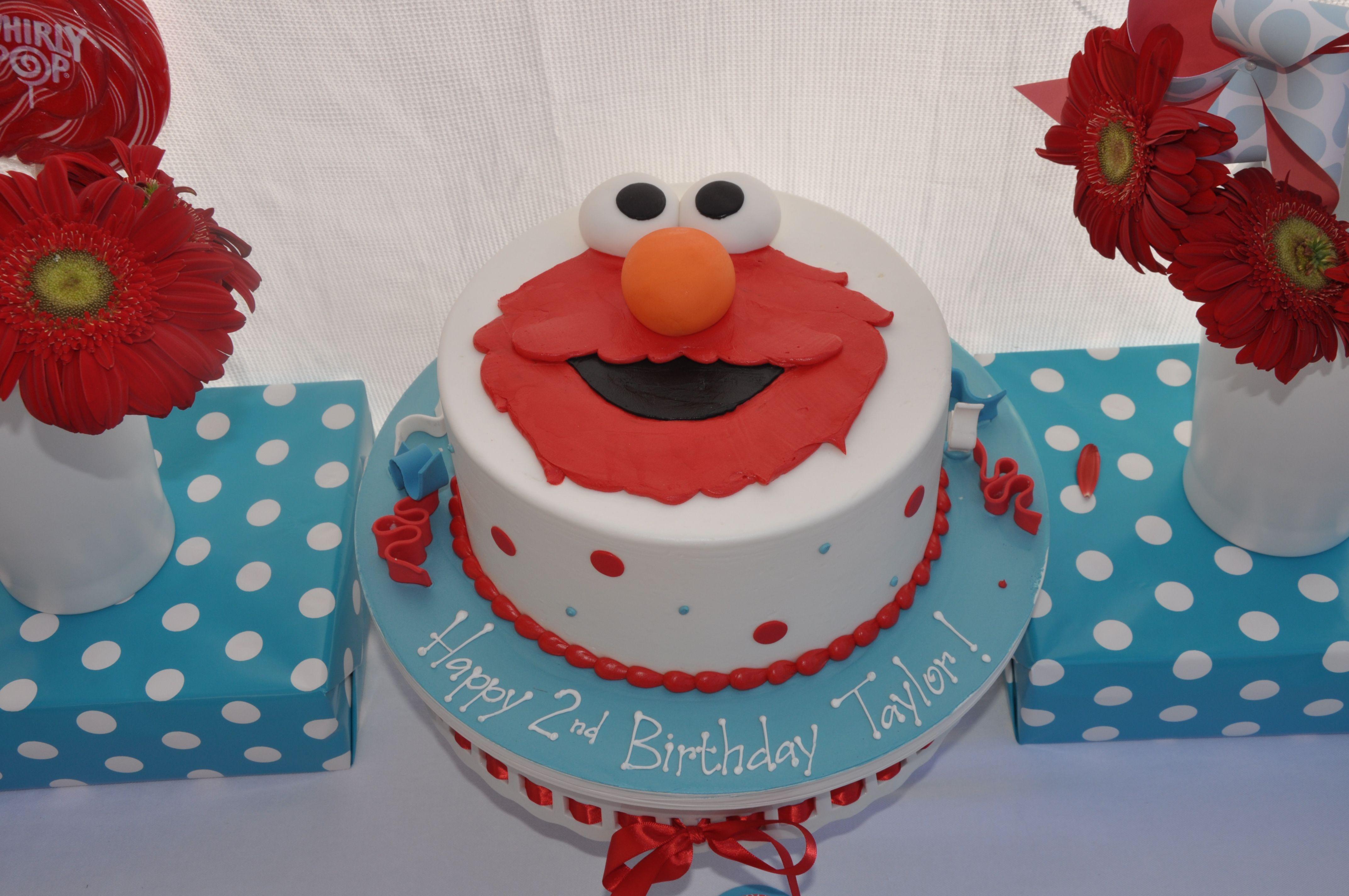 Elmo Birthday Party Taylors World Elmo Elmo birthday and