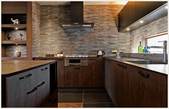 L型キッチン アイランドカウンターの広々ダイニングキッチン 特集