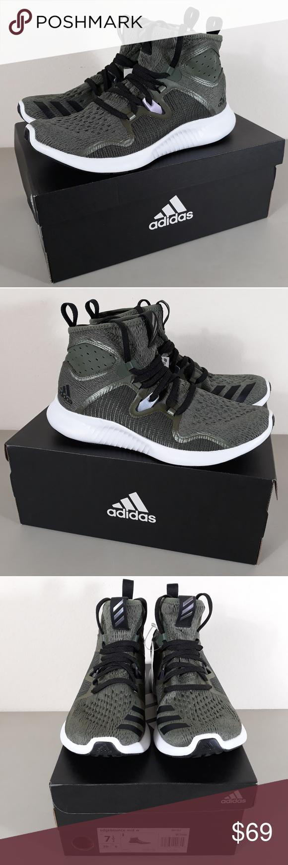 adidas Edgebounce Women's Sneakers, Size: 7.5, Black in 2019