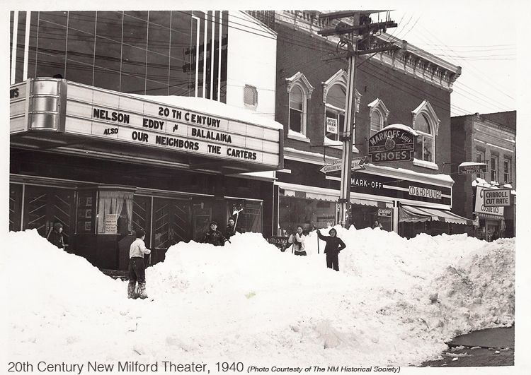 20th century theater new milford historical society