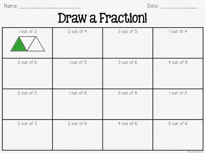 math worksheet : step into 2nd grade with mrs lemons fraction overload  : 2nd Grade Fractions