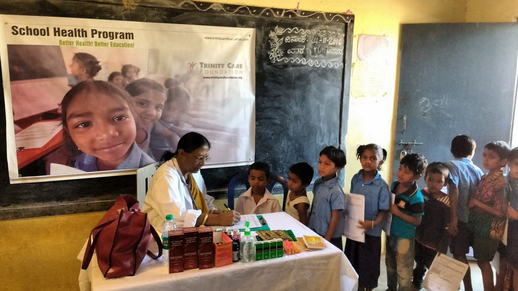 School Health Program Bangalore India (With images