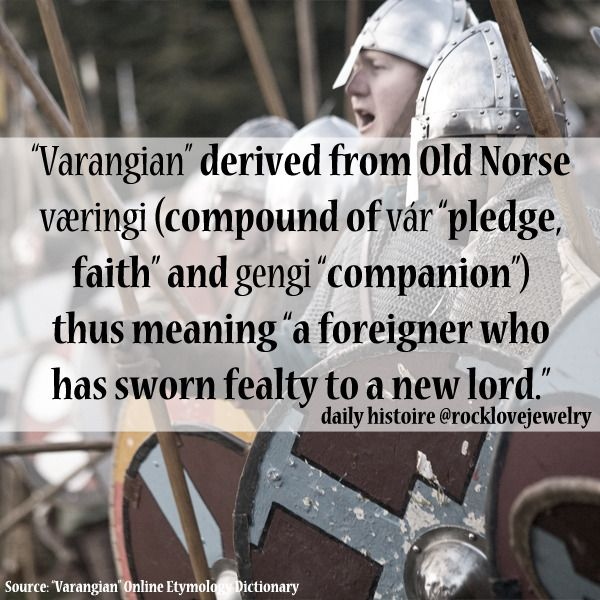 Rocklovejewelry Russian Vikings Facts About The Varangian - Russian vikings